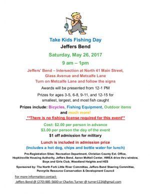 Take Kids Fishing Day