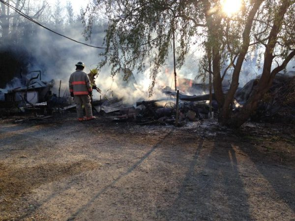 Fire destroys Brushy Fork Creek Gallery