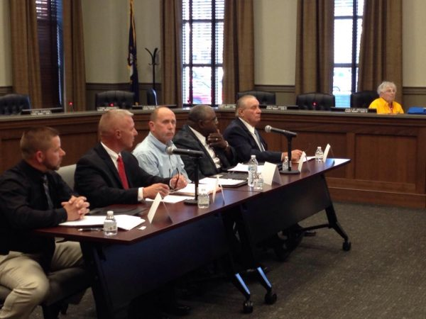 Five Democrats running for Christian County sheriff debate
