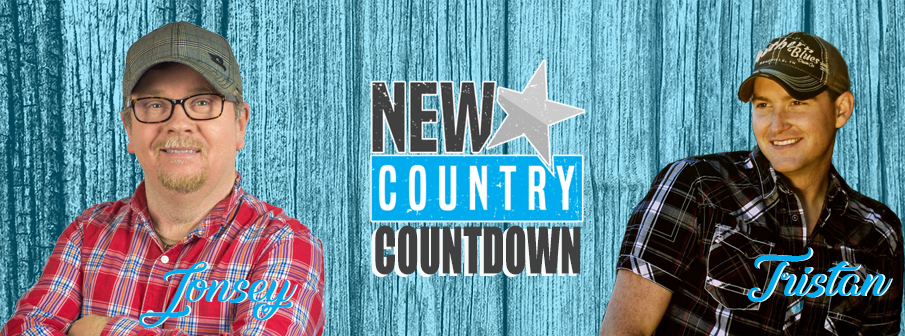The New Country Top 20 Countdown with Jonesy and Tristan Horncastle!