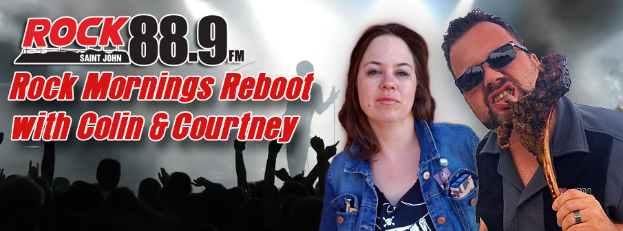 Rock Mornings Reboot with Colin & Courtney