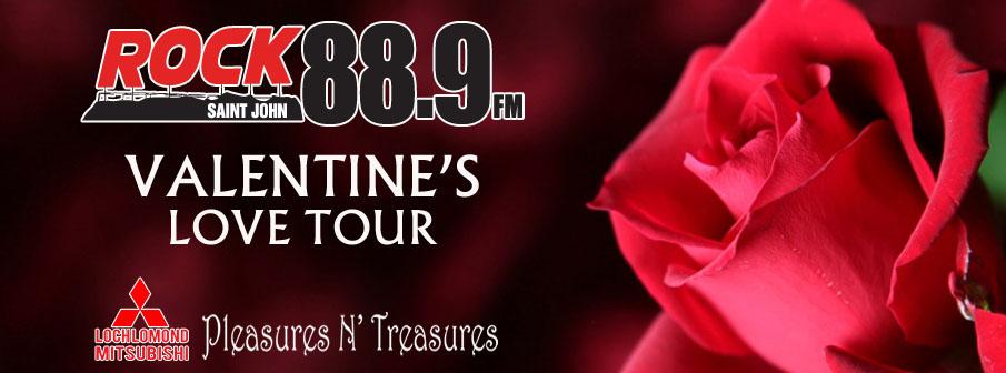 Rock 88.9 Valentine's Love Tour
