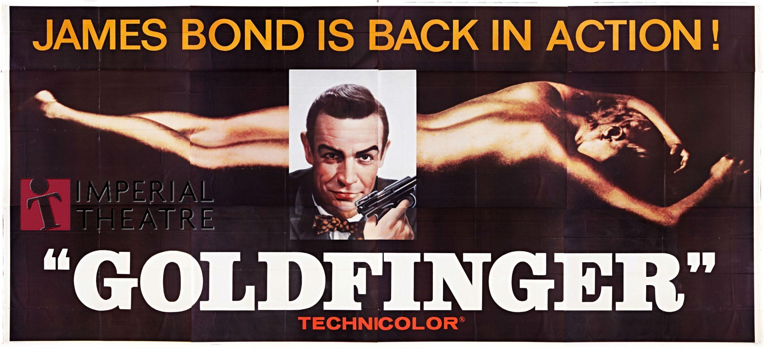 Retro Film Series – Goldfinger at the Imperial Theatre