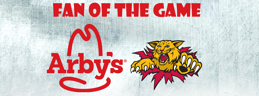 Arby's – Moncton Wildcats Fan Of The Game