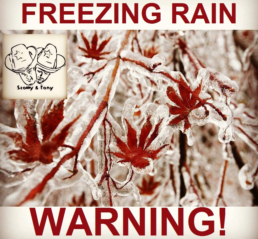 #WhatsTrending - Tuesday, January 22nd - Weather: Freezing Rain Warning In Effect...today & tonight will be be MESSY! / School is CANCELED!