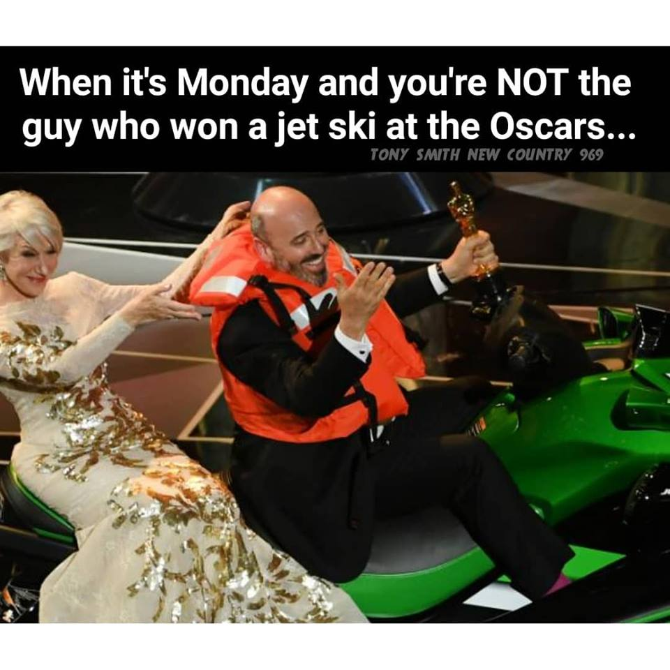 #WhatsTrending - Monday, March 5th - Lousy stinkin' weather / March Break! / Lotto win in Northumberland County / Oscars! / Cats lose, Magic win, Flyers moving to second round!