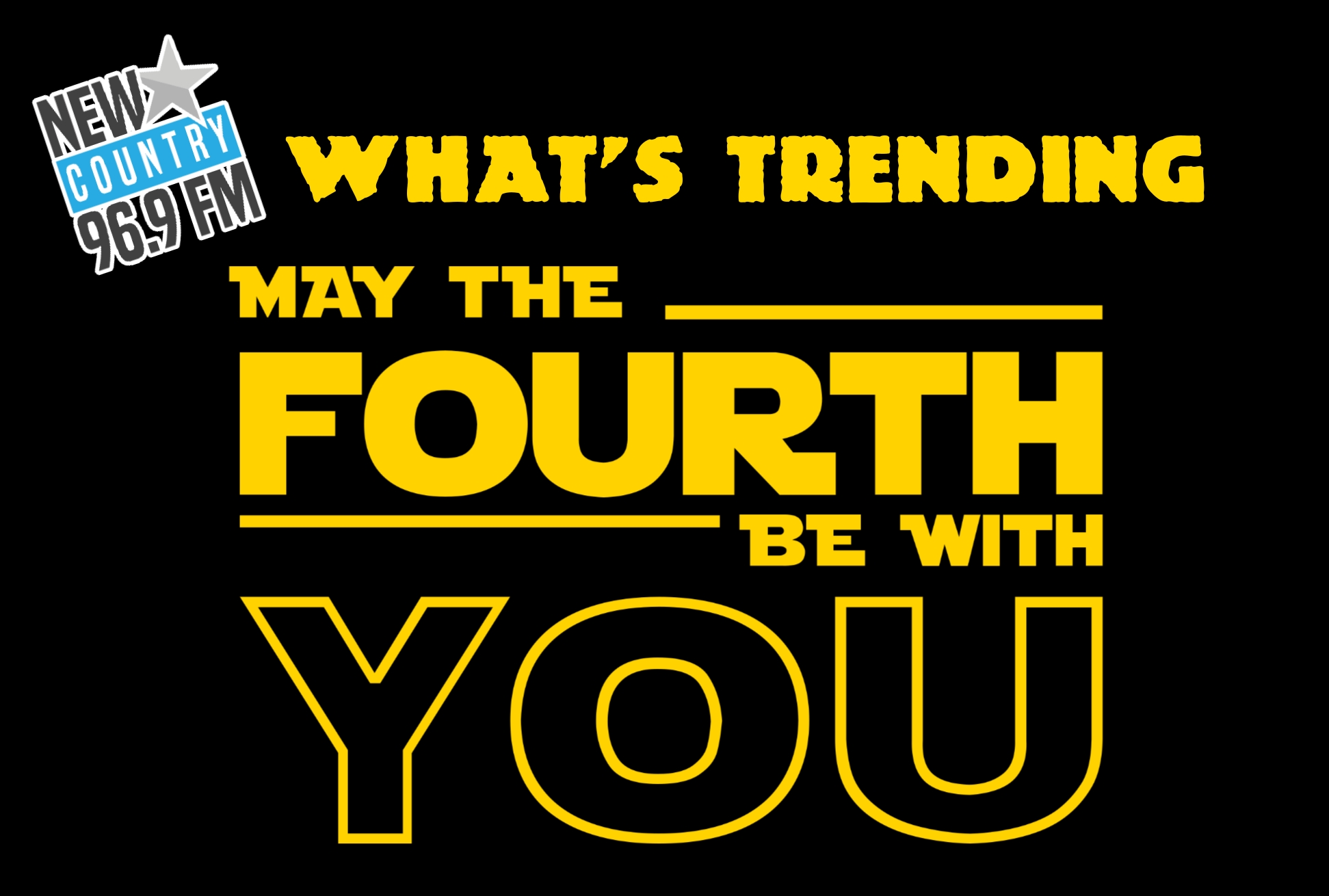 """#WhatsTrending - Friday #MayThe4thBeWithYou - A few showers ending this morning then cloudy. High 15 / #NBFlood is """"worst in more than 80 years""""...TCH still closed between Moncton & Fredericton / Bathurst vs. Blainville-Boisbriand for Q title begins tonight"""