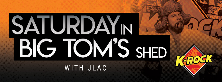 Saturday in Big Tom's Shed