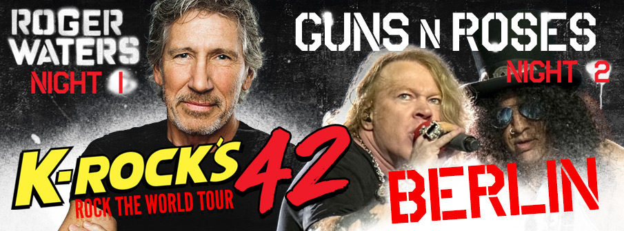 Rock The World Tour 42 - Roger Waters | Guns n