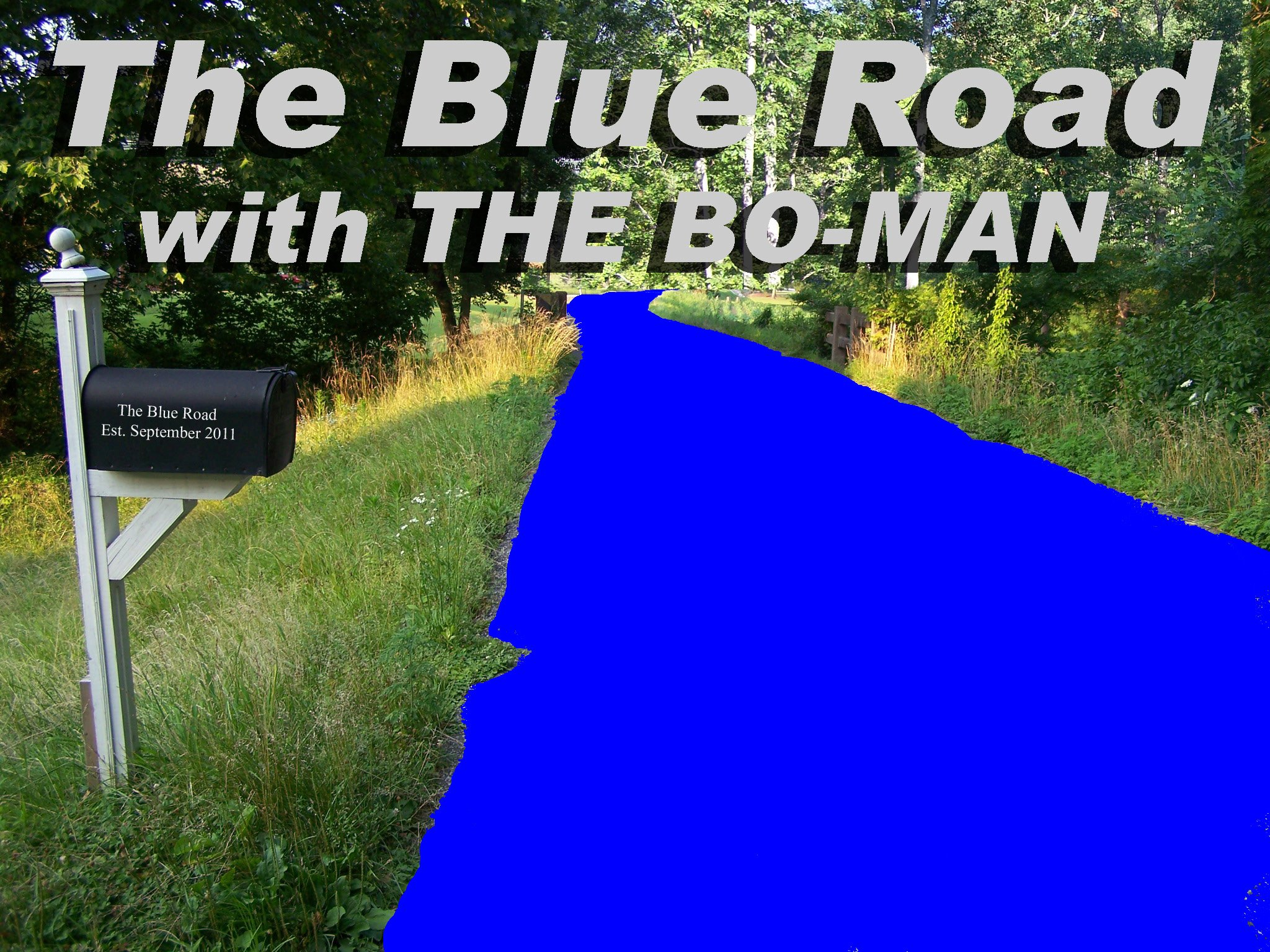 """The BlueRoad with The """"Bowman"""""""