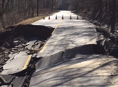 Funds Approved to Repair Pike Co Road