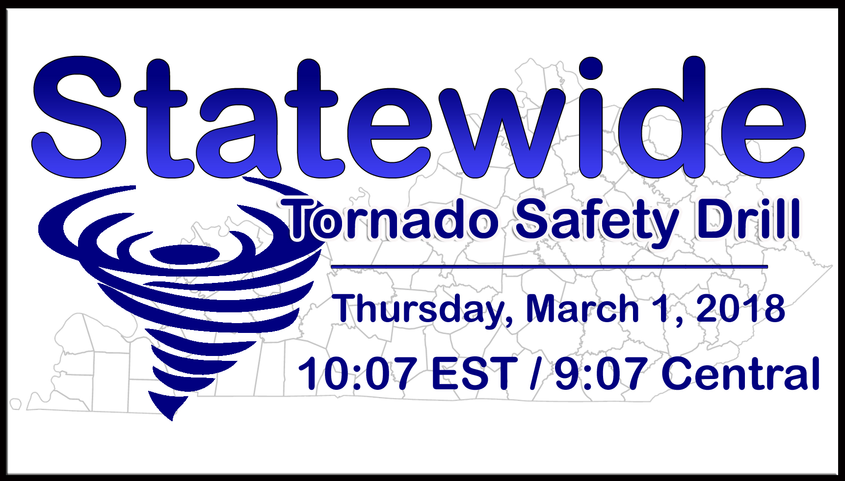 Statewide Tornado Drill on Thursday