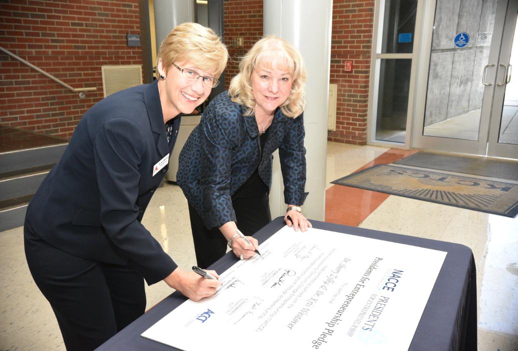 BSCTC Signs Entrepreneurship Pledge