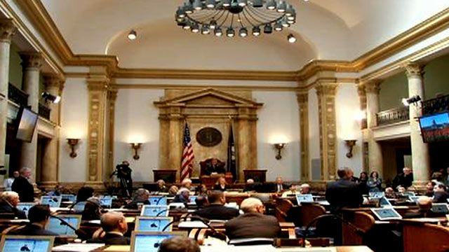 State Senate Passes Pension Reform Bill.