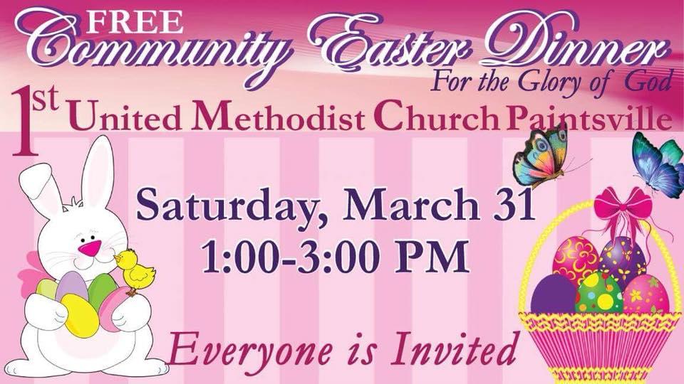 Free Community Easter Dinner