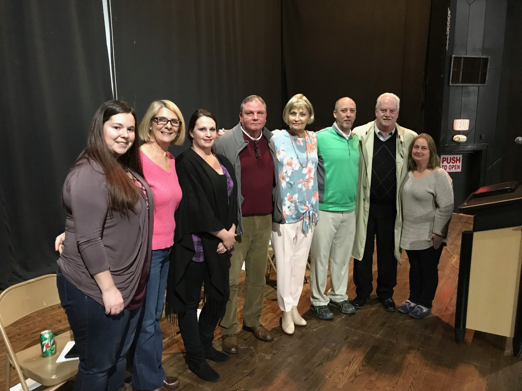 Town Hall Meeting Held Tuesday