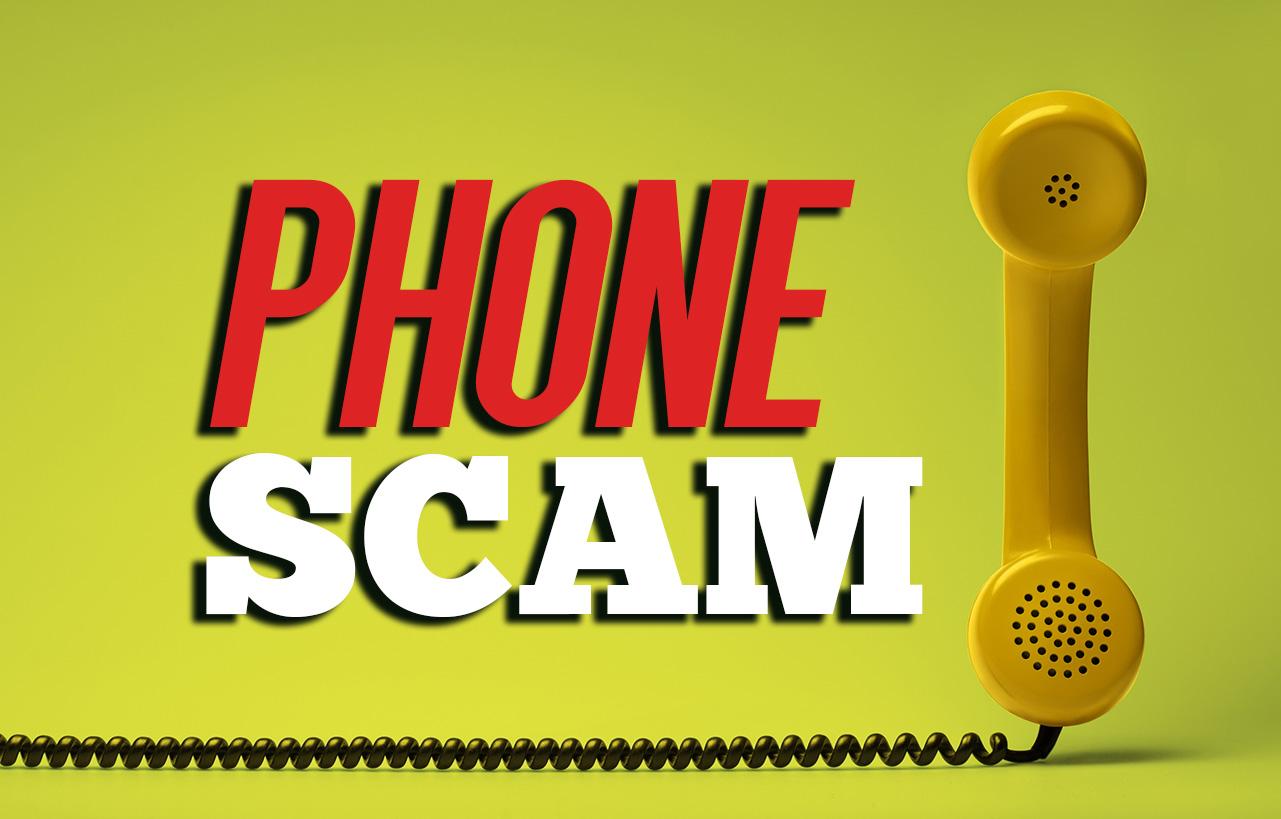 Local Authorities Warn of Phone Scam