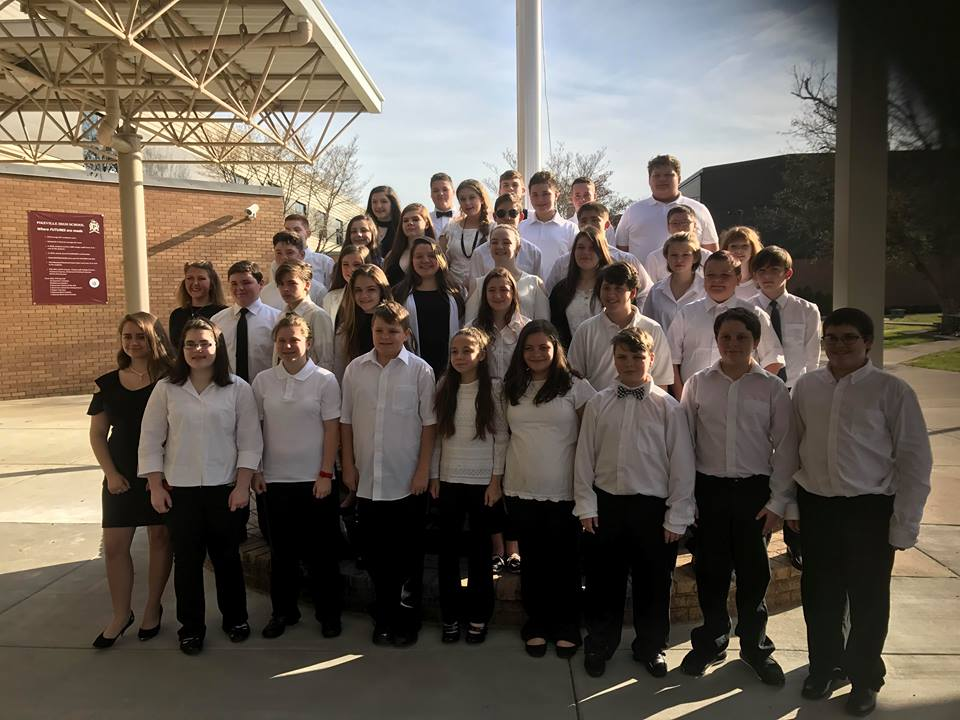 JCMS Band Earns Distinguished Rating