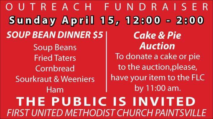 Local Church Hosting Outreach Fundraiser