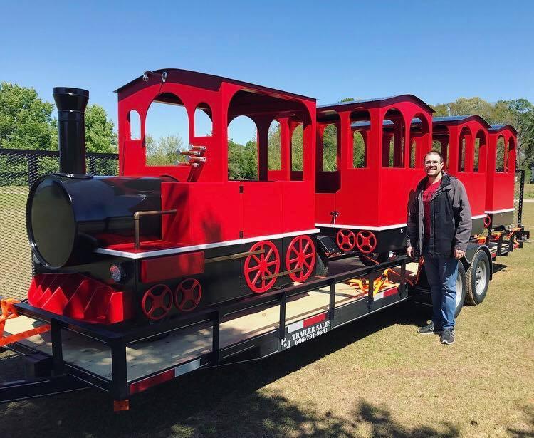 Paintsville Tourism Brings Home a Train