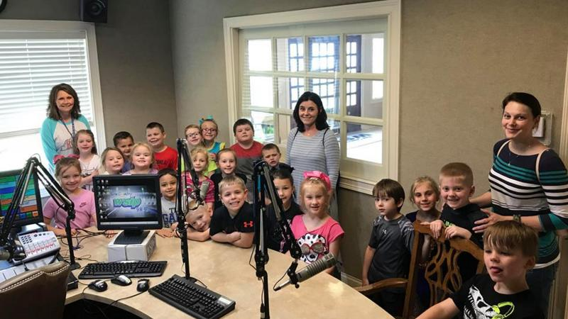 Paintsville Kindergarten Tours Radio Station