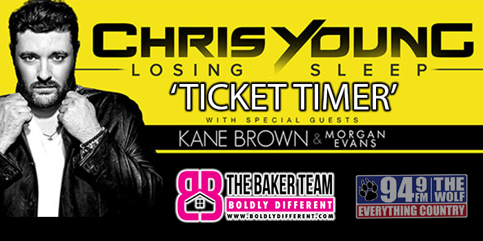 Feature: http://www.949thewolf.com/chris-young-ticket-timer-contest/