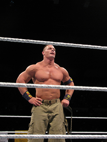 """Former """"Blue's Clues"""" host wants to wrestle John Cena for right to host reboot!"""