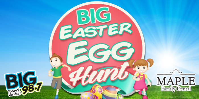 Feature: http://www.big987.com/big-98-7-big-easter-egg-hunt/