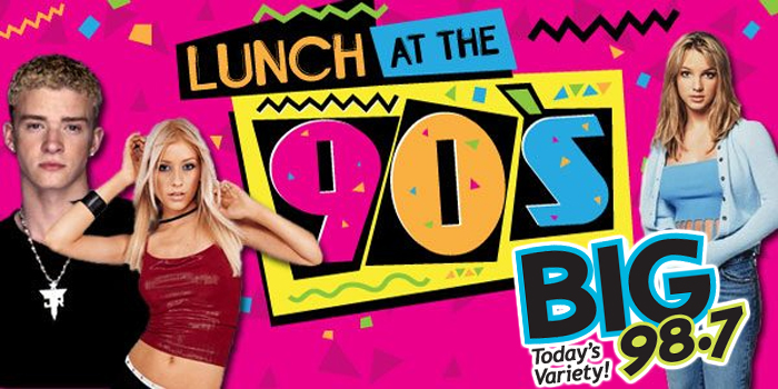 Feature: http://www.big987.com/lunch-at-the-90s/