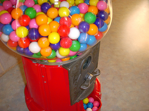 Idiot du Jour: Gumball Thief Fail