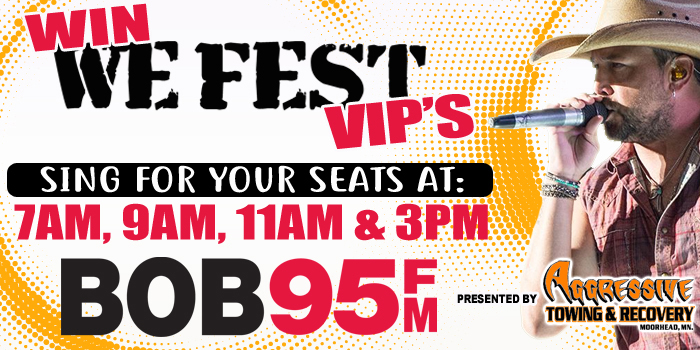 Feature: http://www.bob95fm.com/we-fest-winning-sing-for-your-seats/