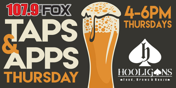 Feature: http://www.1079thefox.com/taps-apps-thursday/