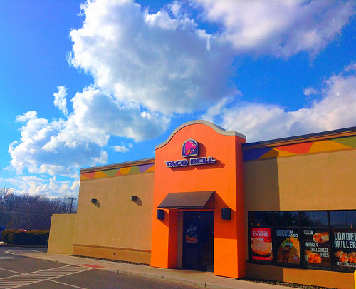 100 People Hold Vigil For Taco Bell