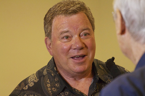 A Woman Once Held William Shatner's Underwear Hostage