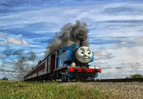 Thomas the Train Stunts!