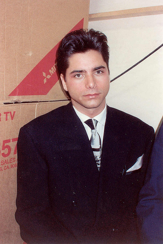 John Stamos Cries in His First Interview About Fatherhood.