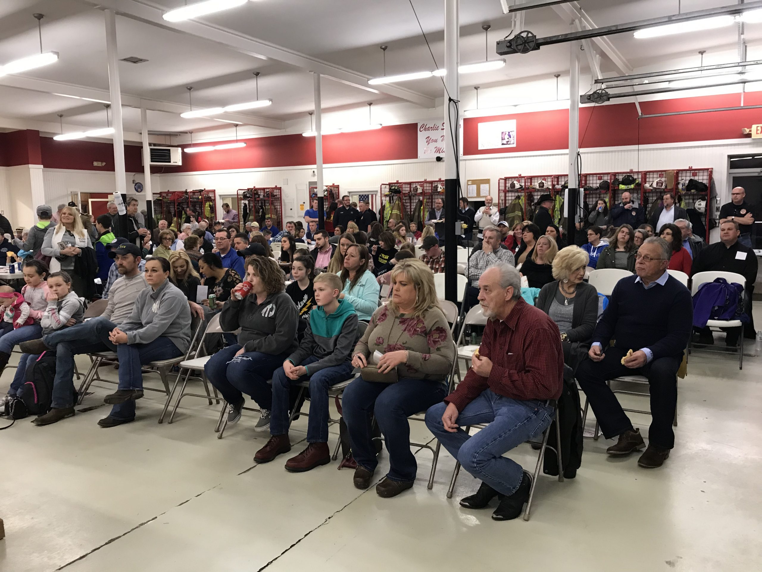 Huge Turnout For Fire Department's Candidate Forum
