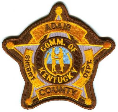 Adair Co. Sheriff's Department Activity Report