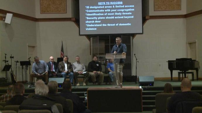 London Church Takes On The Subject Of Church Safety