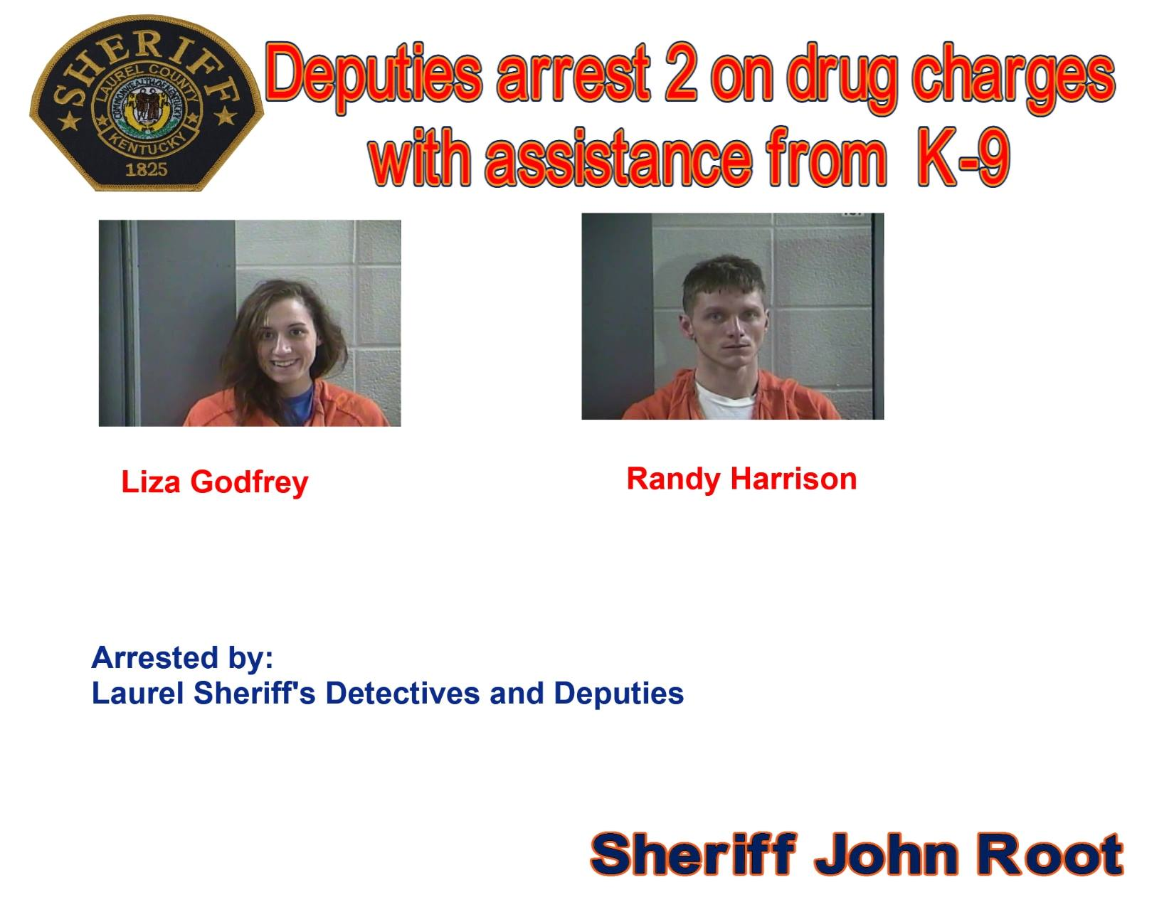 Two People Are Arrested During Laurel County Drug