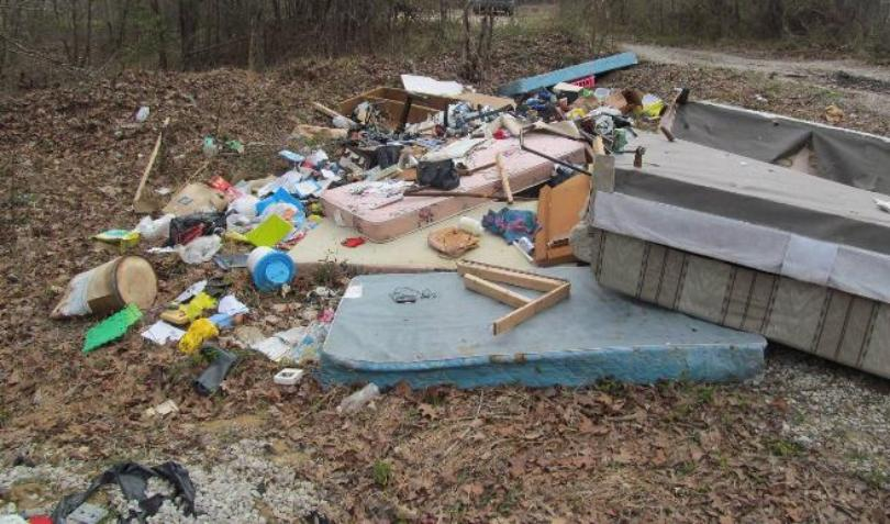 Several Illegal Dump Sites Found In Daniel Boone National Forest