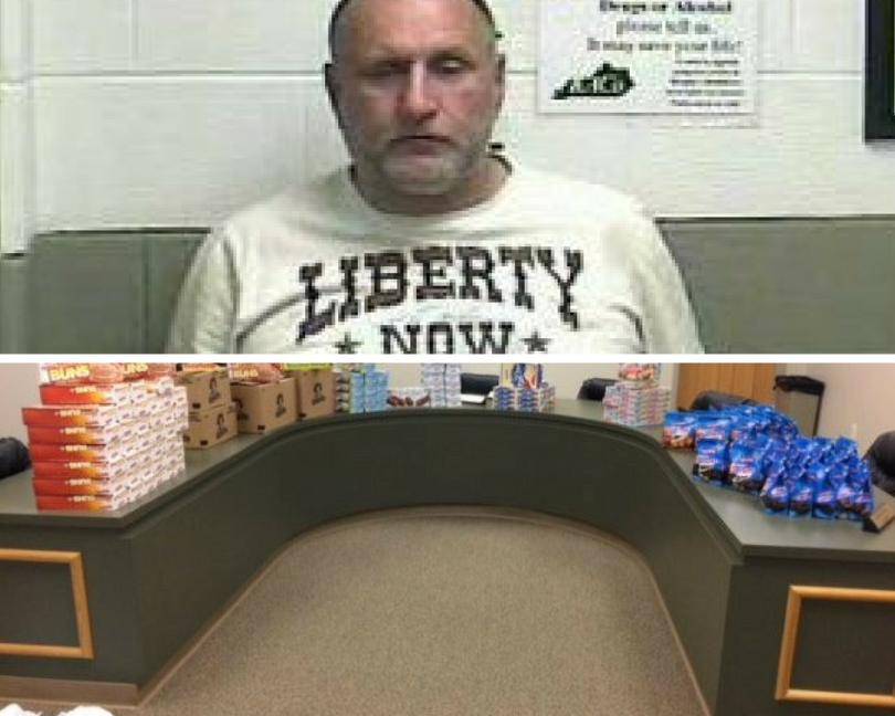 Man Arrested In Williamsburg Accused Of Stealing Hundreds Of Snack Cakes From Storage Unit