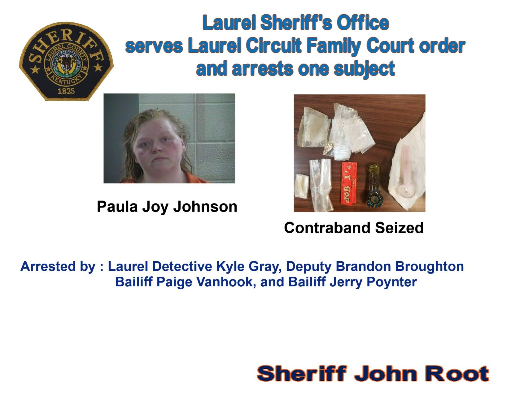 Laurel County Woman Arrested As Authorities Remove Child From Alleged Abusive Home