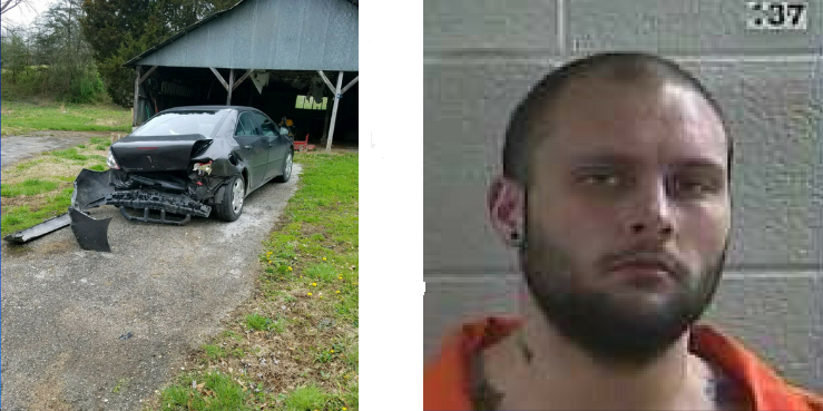 Laurel County Man Arrested After Ramming His Wife's Car And Threatening Police