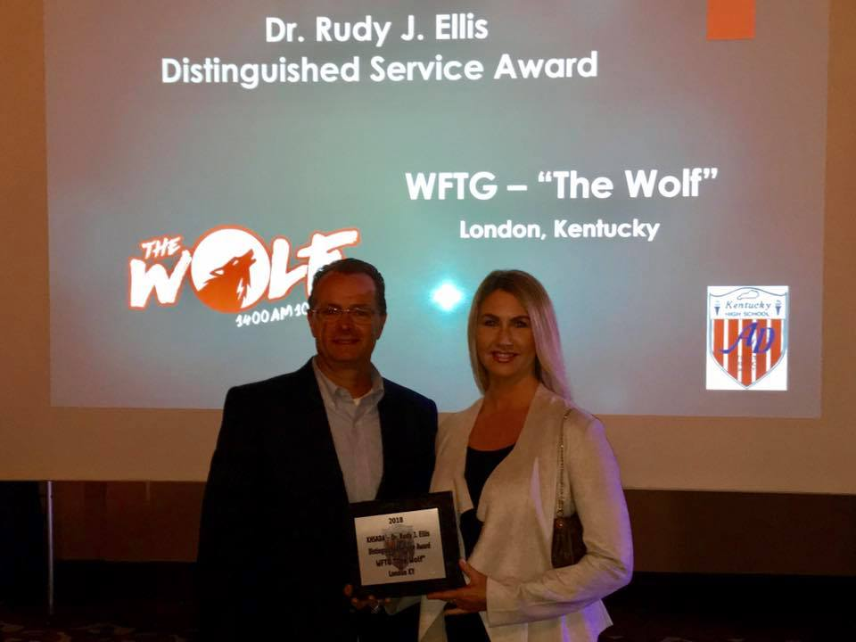 The Wolf Receives Sports Award