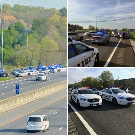 London Police Assist Multiple Agencies In High Speed Pursuit From Georgetown To London