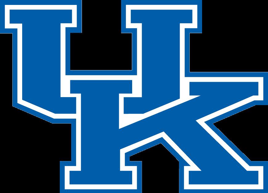NCAA Kentucky Wildcats Bone Print Car Magnet