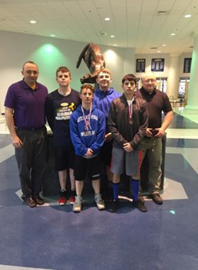 Letcher County Central Wrestling Team Advances to State