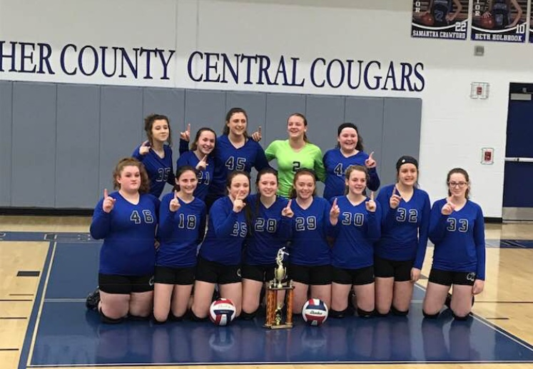 Letcher Middle School wins 2018 county volleyball title