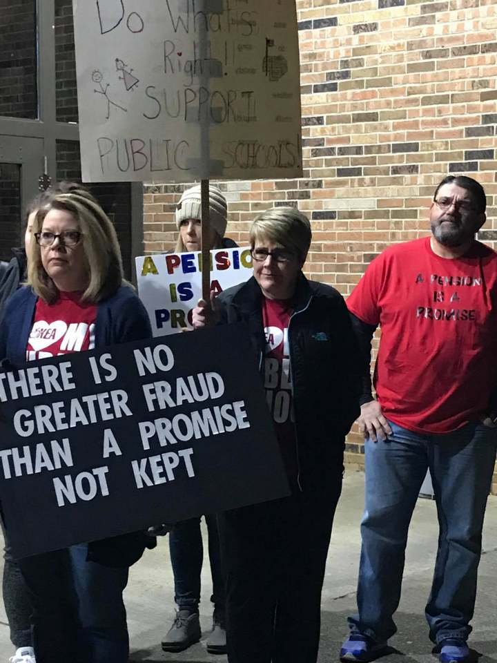 The Letcher County teachers and others plan rally for this Monday March 19